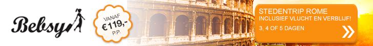 Met Bebsy naar Rome