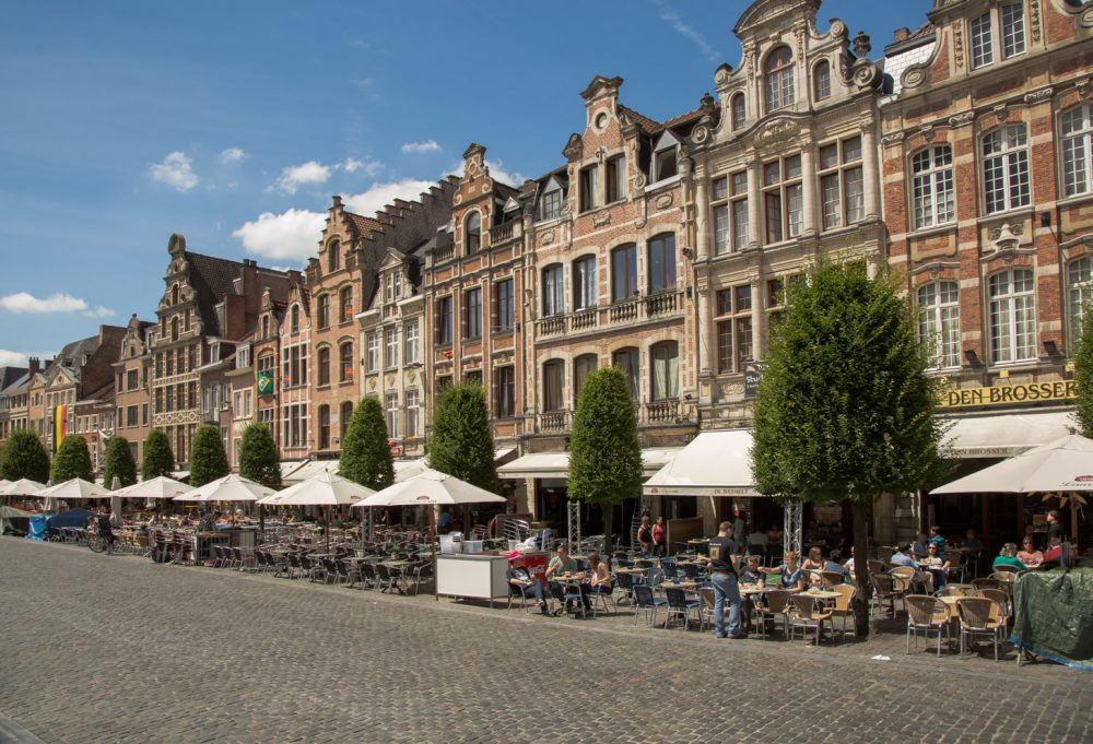 Sfeervol Leuven op een zomerse dag